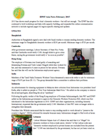 Asia Pacific: News & Updates February 2015
