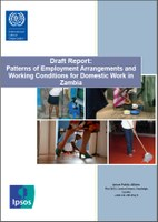 Draft Report: Patterns of Employment Arrangements and Working Conditions for Domestic Work in Zambia