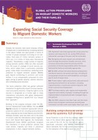 Expanding Social Security to Migrant Domestic Workers