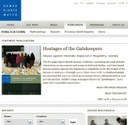 Human Rights Watch Documents on domestic workers