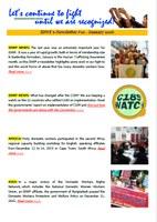 IDWF e-Newsletter #10 - January 2016