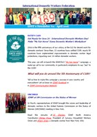 IDWF e-Newsletter #11 - April 2016