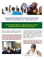 IDWF e-Newsletter #19 - November 2017