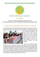 IDWF e-Newsletter #2 - MAR 2014