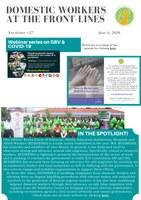 IDWF e-Newsletter #27 - 4 June 2020