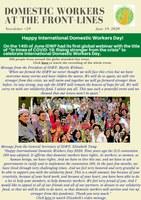 IDWF e-Newsletter #29 - 19 June 2020