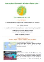 IDWF e-Newsletter #3 - APR 2014