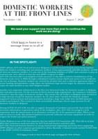 IDWF e-Newsletter #36 - 7 August 2020