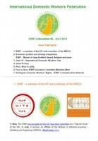 IDWF e-Newsletter #4 - JULY 2014