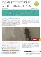 IDWF e-Newsletter #44 - 8 October 2020