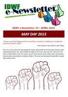 IDWF e-Newsletter #7 - APR 2015