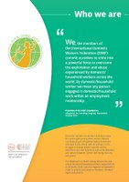 IDWF leaflet: Who we are