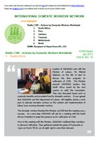 IDWN e-Newsletter - APR 2013 Issue No. 10