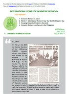 IDWN e-Newsletter - FEB 2013 Issue No. 09