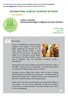 IDWN e-Newsletter - JAN 2013 Issue No. 08