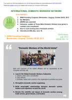 IDWN e-Newsletter - JULY 2013 Issue No. 12