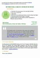 IDWN e-Newsletter - NOV 2012 Issue No. 07