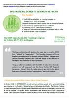 IDWN e-Newsletter - OCT 2012 Issue No. 06