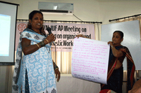 "IDWN/IUF-AP Meeting on ""Strategic Planning on Organizing and Campaigns of Domestic Workers in India"" Summary Report"