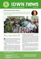 IDWN Newsletter - Oct 2011