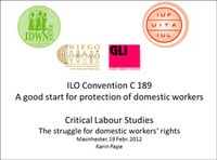 ILO Convention C189 - A Good Start for Protection of Domestic Workers