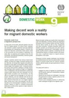 Making decent work a reality for migrant domestic workers
