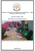 Mozambique: National Trade Union of Domestic Workers (SINED) 2015 Activities Report (Portuguese only)