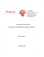 New Rights, Old Social Protections: The New Regulation for Domestic Workers in Argentina
