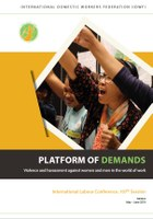 Platform of Demands - Violence and harassment against women and men in the world of work