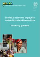 Qualitative research on employment relationship and working conditions: preliminary guidelines