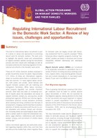 Regulating International Labour Recruitment in the Domestic Work Sector
