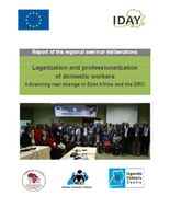 Report of the regional seminar deliberations - Legalization and professionalization of domestic workers