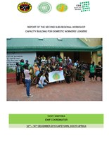 Report of the Second Sub-regional Workshop - Capacity building for domestic workers' leaders in South Africa