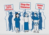 Support Campaign to End Gender-based Violence at Work!