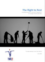 "The Right to Rest: The effectiveness of the ""day off"" legislation for foreign domestic workers"