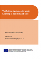 Trafficking in domestic work: Looking at the demand-side