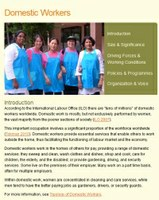 WIEGO Web Section on Domestic Workers