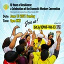 10 Years of Resilience: a Celebration of the Domestic Workers Convention