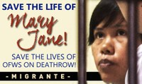Mary Jane Lives! Migrant Worker Action Helps Save the Life of Filipina Mary Jane Veloso!