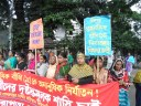 Bangladesh: Human Chain to protest torture on child domestic worker BEETHI