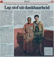 Belgium: ACV and IDWN support the organizing of domestic workers in Africa (Dutch only)