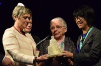 Belgium: IDWF receiving the Sr Jeanne Devos Award