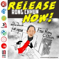 Cambodia: Global Union Federations demand release of Rong Chhun and other trade unionists
