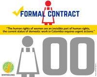Colombia: Only 1 out of 100 house workers have formal labor contract