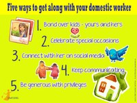 Global: Five ways to get along with your domestic worker