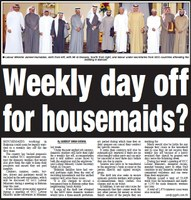GCC: Unified contract for domestic workers