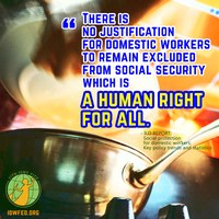 Global: 90 per cent of domestic workers excluded from social protection, says ILO