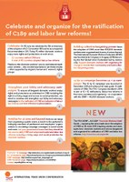Global: Celebrate and organize for the ratification of C189 and labor law reforms!