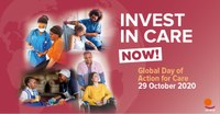 Global Day of Action for Care: Unions and civil society mobilising to demand investments in care for building more inclusive, accessible, resilient, and caring economies.