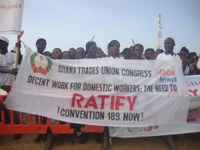 Global: Domestic workers call to ratify C189 on the May Day